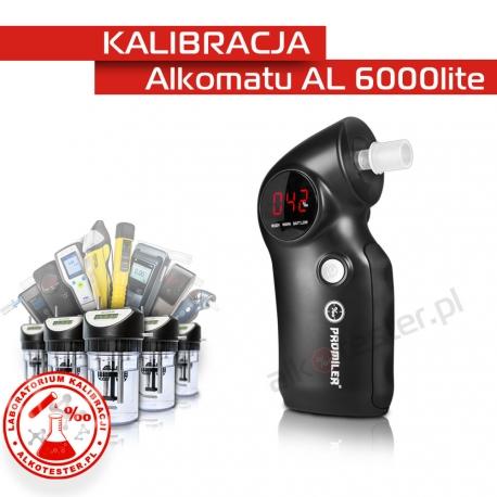 Kalibracja Alkomatu Al6000lite