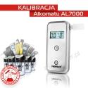 Kalibracja Alkomatu AL 7000 - Świadectwo Kalibracji
