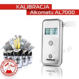 Kalibracja Alkomatu AL 7000