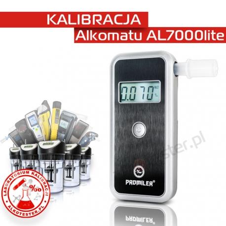 Kalibracja Alkomatu AL 7000lite