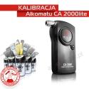 Kalibracja Alkomatu CA2000lite - Świadectwo Kalibracji