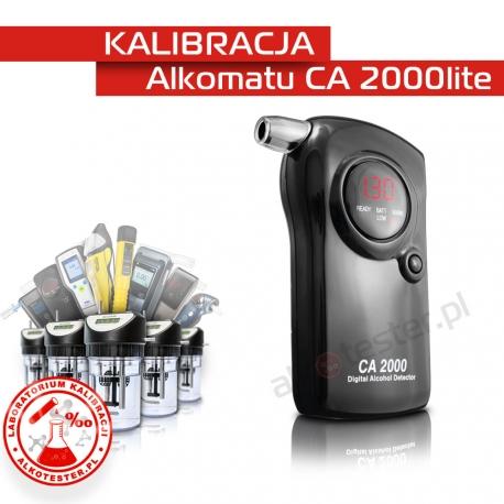 Kalibracja Alkomatu CA2000lite