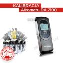 Kalibracja Alkomatu DA7100 - Świadectwo Kalibracji
