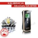 Kalibracja Alkomatu DA8700 - Świadectwo Kalibracji