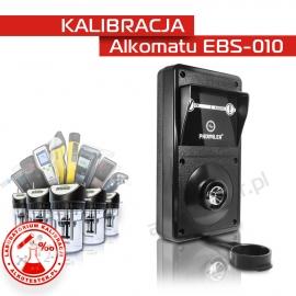 Kalibracja Alkomatu EBS-010 - Świadectwo Kalibracji