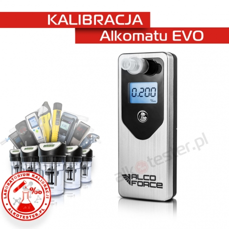 Kalibracja Alkomatu EVO