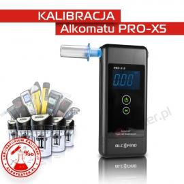 Kalibracja Alkomatu PRO X-5 - Świadectwo Kalibracji