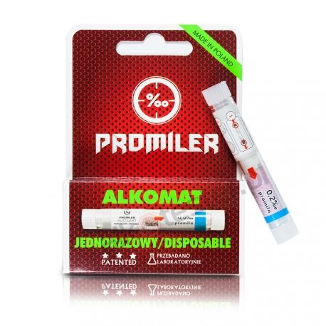 Alkomat jednorazowy Promiler