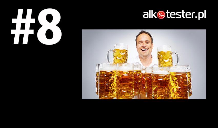 Rekord świata noszenie piw