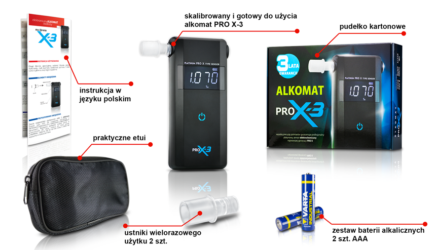 Alcofind Pro X-3