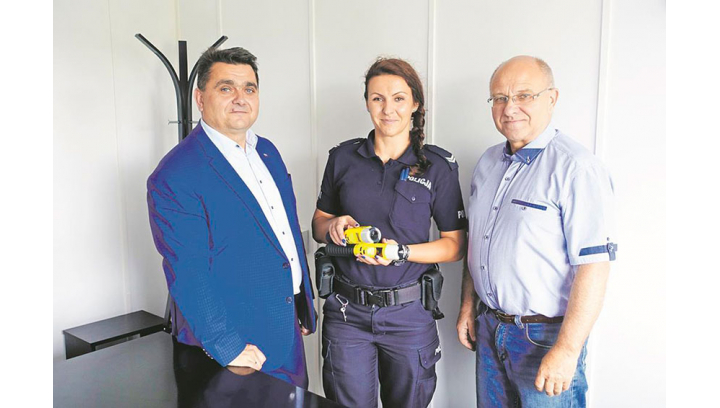 Alkomaty iBlow przekazane Policjantom z Łochowa